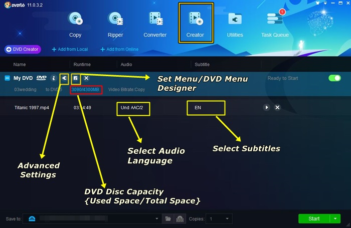 the way of using the best dvd creator software