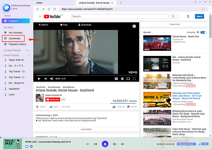 download youtube music to computer
