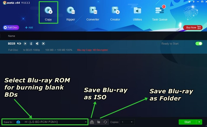 How to Backup Blu-ray Discs For Free Easily with DVDFab Blu
