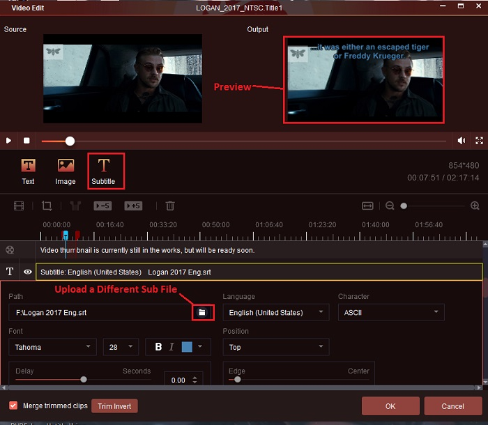 how to add external subtitles on the powerful dvd ripper software