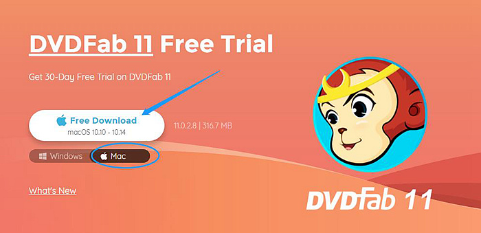 where is the install file of dvdfab 11 for mac