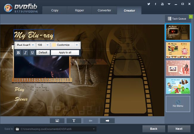 how to create blu ray from mkv
