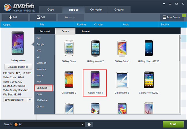 How to Rip DVD to Samsung Galaxy Note 4? - Image 2