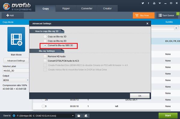 how to create blu ray sub menu