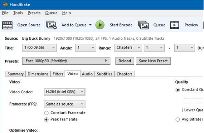 Convert DVD to MP4 and MKV with HandBrake DVD ripper free
